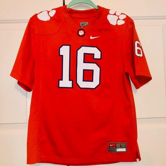 clemson 16 jersey
